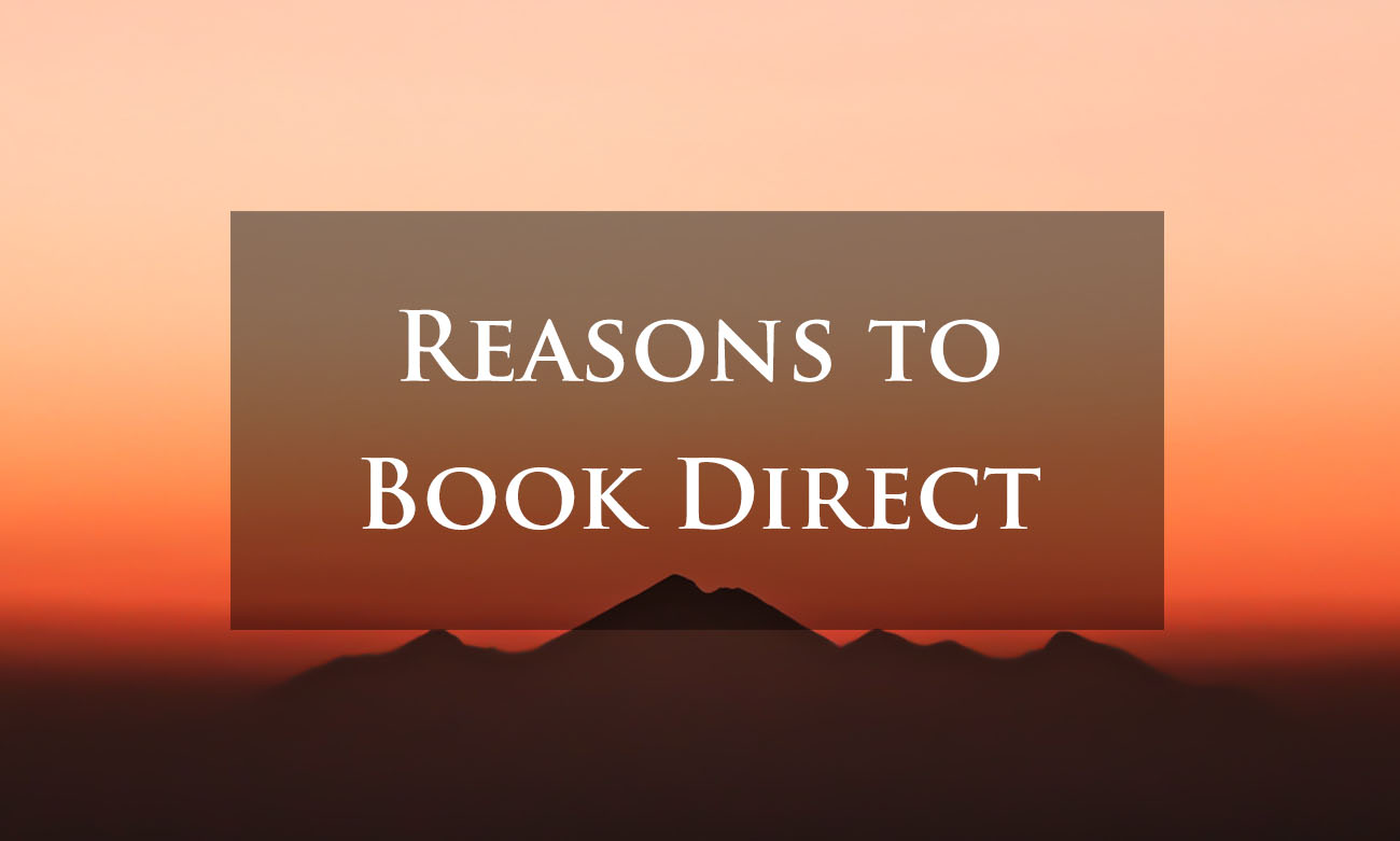 Why Book Direct